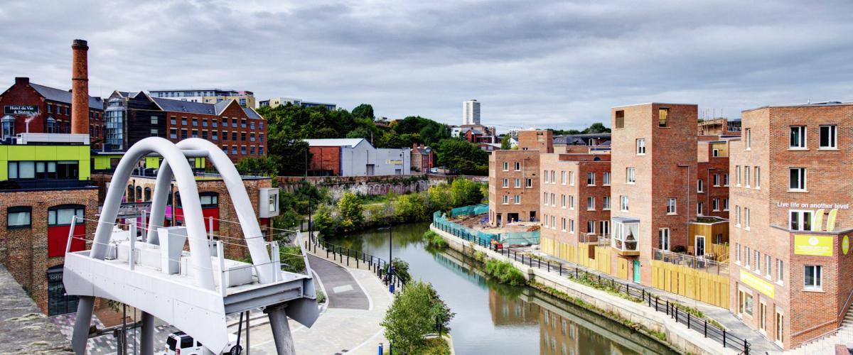Igloo Regeneration scheme, Ouseburn Valley, Newcastle: Creating a new neighbourhood of over 300 homes and 20,000 sq ft of commercial space
